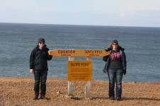 Us at Slope Point