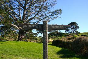 Famous signpost