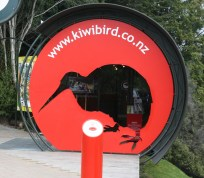 Entrance to the Kiwi Park