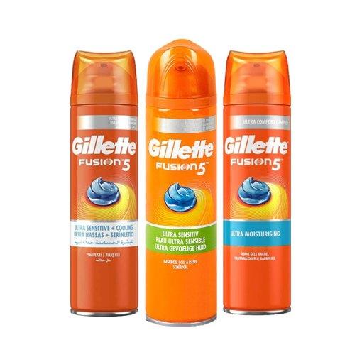 Gillette Fusion Shaving Gel 200ml