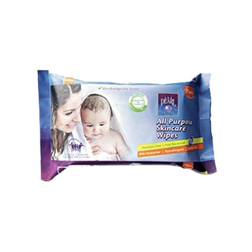 Seapearl Wet Wipes for baby 72 Emirati tissue
