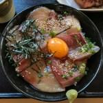 道の駅 源平の里 むれ の 海鮮食堂じゃこや オリーブハマチ の はまちのづけ丼 を食べてみた!!