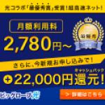 最大52,000円キャッシュバック!光回線が2,780円から使える【ビッグローブ光】