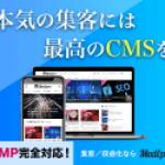 本気の集客には最高のCMS!万全なSEO対策!AMPやスマートフォーマットに対応した 記事メディア特化型CMS『メディプロ』