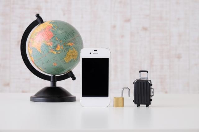 スマートフォンと旅