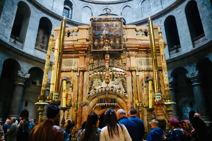 聖墳墓教会のイエスの墓