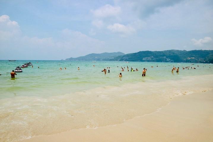 プーケットのパトンビーチ