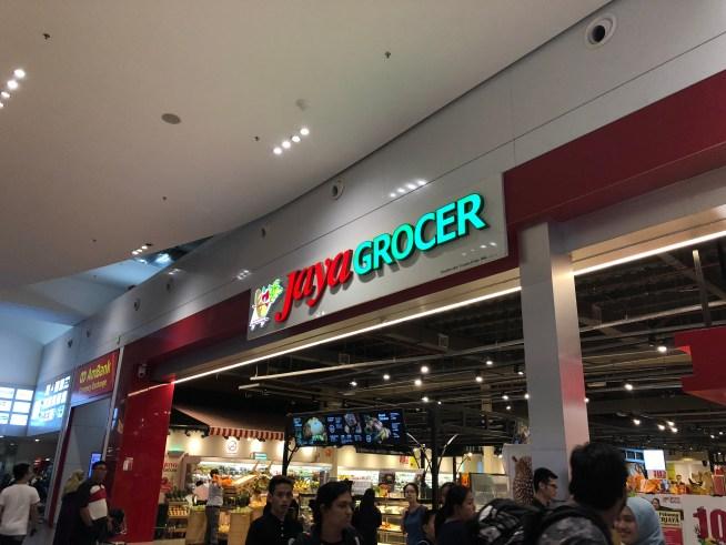 クアラルンプール国際空港のスーパーJaya GROCER