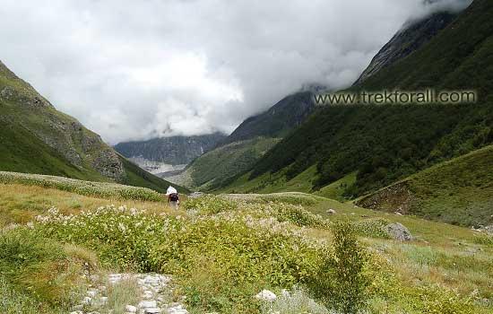 Just before reaching Pushpawati River bed