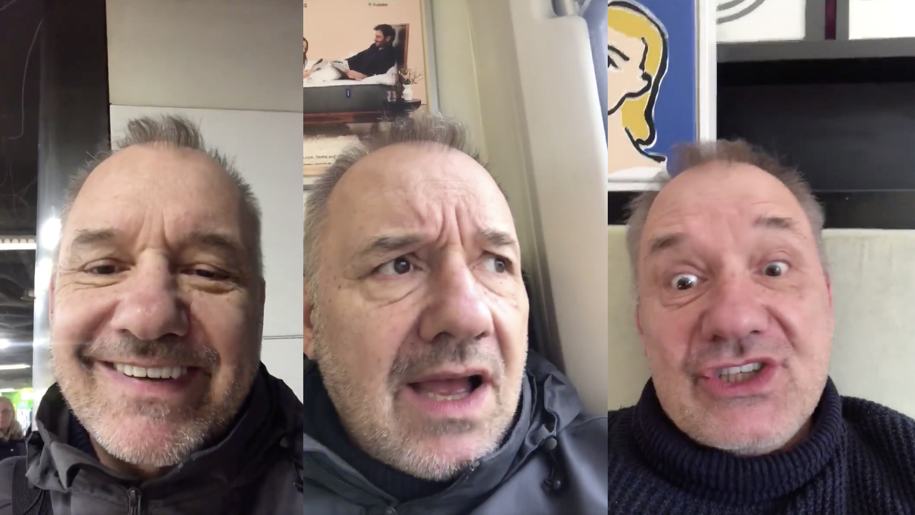 Bob Mortimer S Train Guy Is The Funniest Thing On The Internet