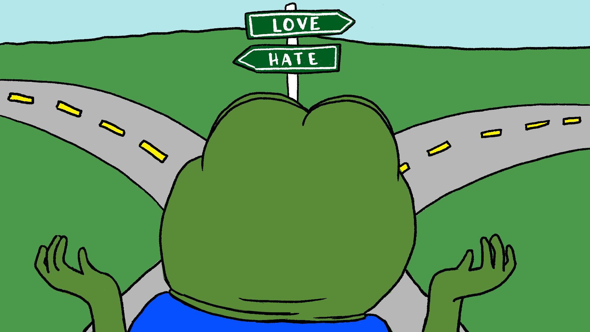Pepe The Frog S Creator Pepe Is Love