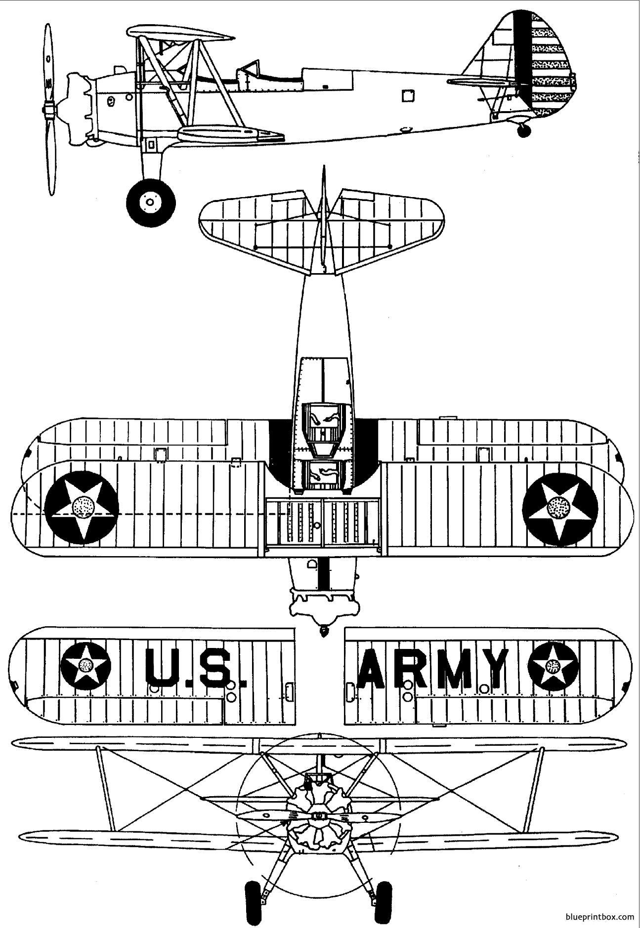 Boeing Stearman Pt13 17