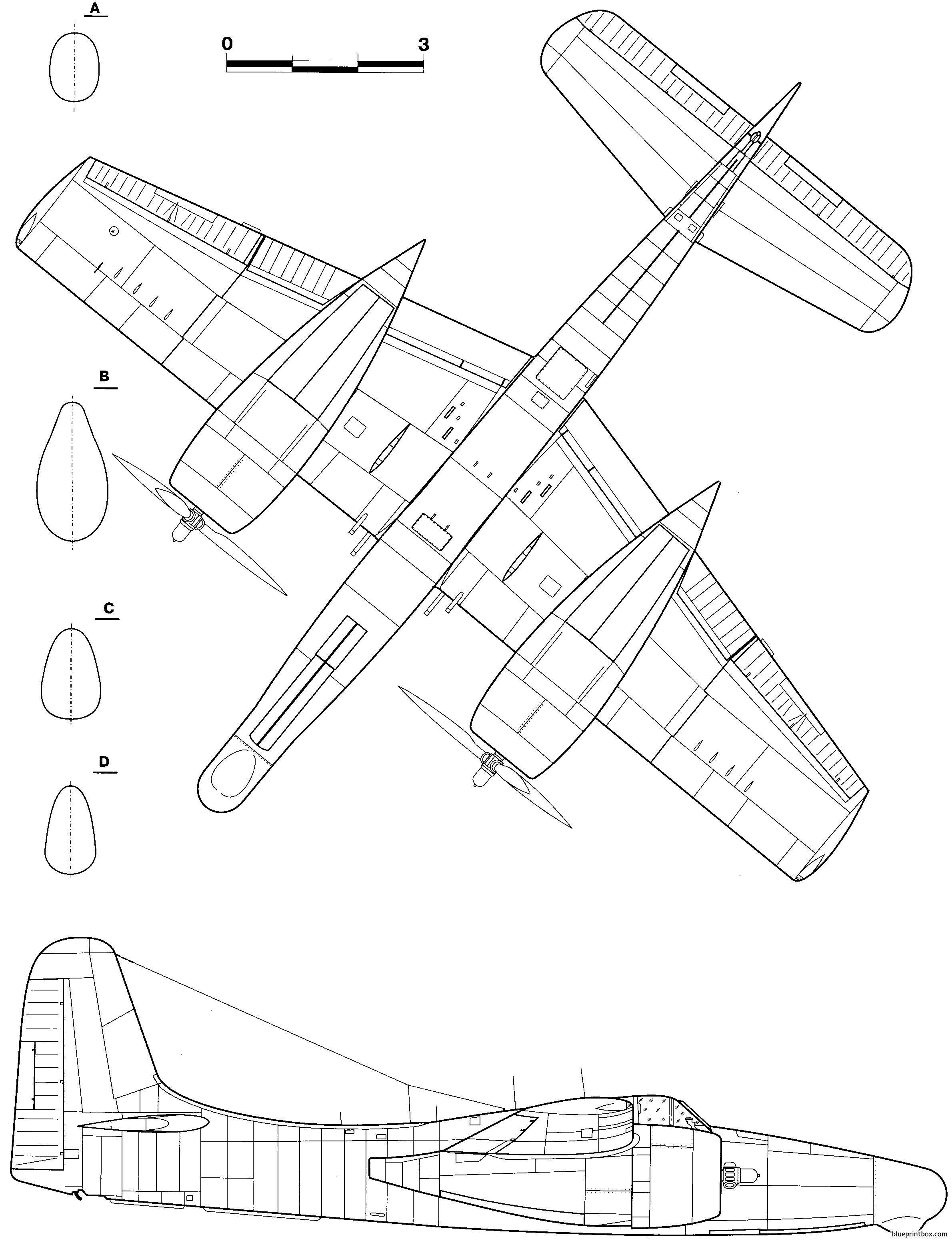 Grumman F7f 3n Tigercat 2