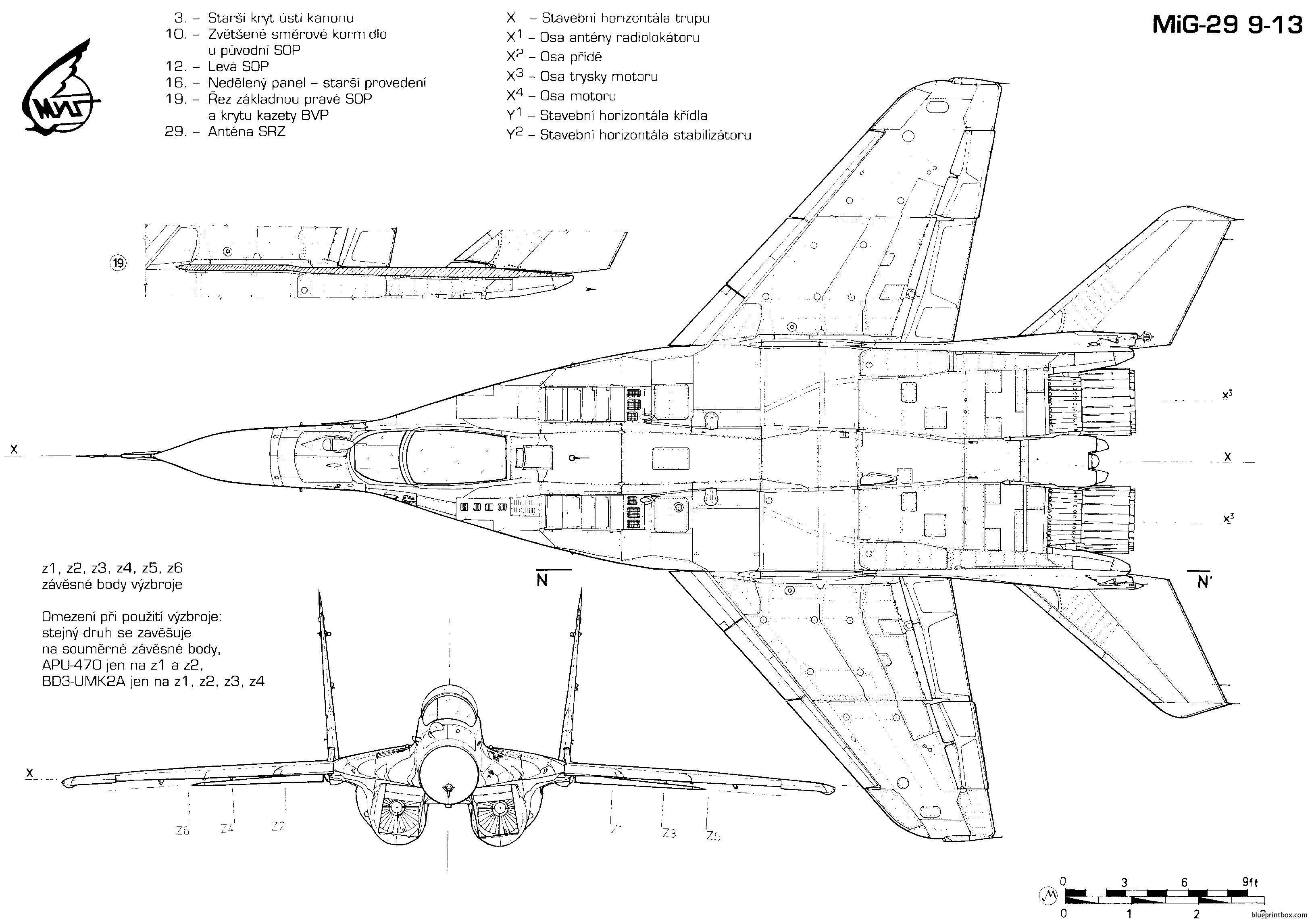 Mikoyan Gurevich Mig 29 3