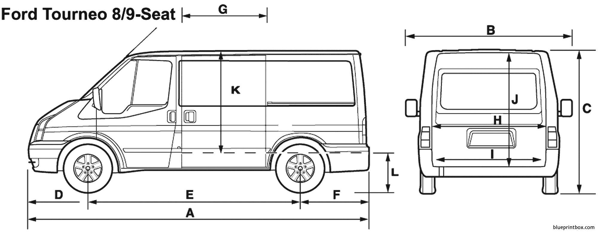 Ford Tourneo 8 Seat