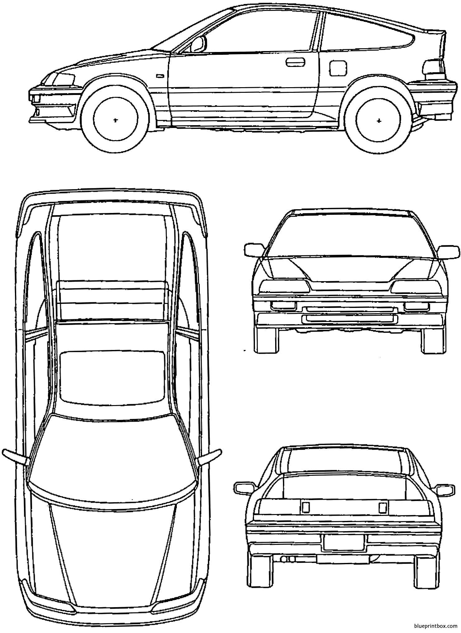 Honda Crx 90 Mk2