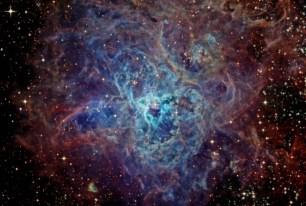 A strange and beautiful galaxy.