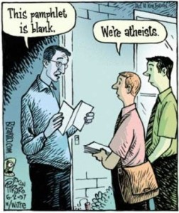 Atheism offers…?