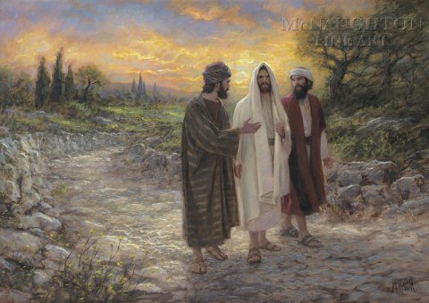 "25 And he said to them, ""O foolish men, and slow of heart to believe all that the prophets have spoken! 26 Was it not necessary that the Christ should suffer these things and enter into his glory?"" 27 And beginning with Moses and all the prophets, he interpreted to them in all the scriptures the things concerning himself. Luke 24: 25-26"