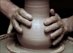 He is the potter, we the clay.
