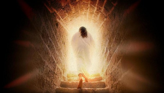 Death was defeated by the resurrection.