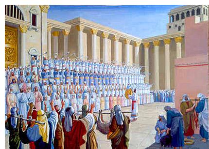 The choir of the temple.
