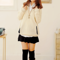 If only my school uniform is this cute,I will be looking forward to go school everyday!