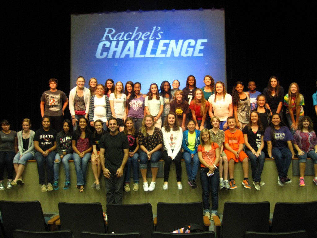Rachel S Challenge Assembly Challenges Rockwall Isd