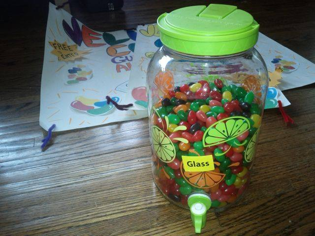 Blueridge Good Neighbour Day – Jelly Bean Count Winner!
