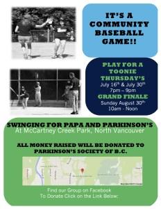Swing for Papa 2015