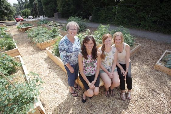 Blueridge Sharing Garden featured in the North Shore News