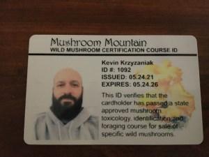 Certified Mushroom Safety