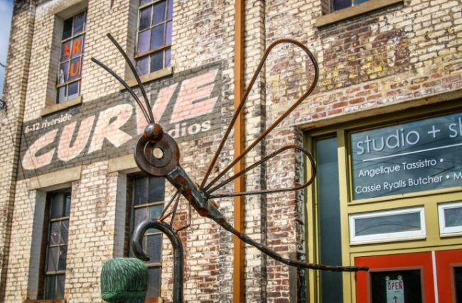 Curve Studios in Downtown Asheville's River Arts District