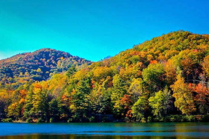 North Georgia's Vogel State Park in Autumn