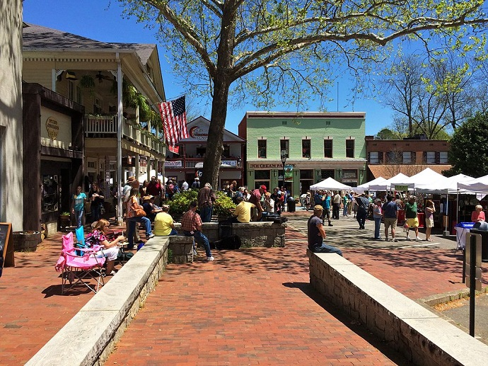 Public Square North, Dahlonega, GA