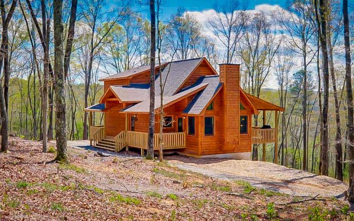 Blue Ridge Cabin Rental- Wood Haven Retreat in Blue Ridge, GA
