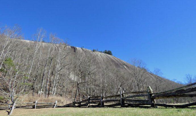Stone Mountain Rock Face - Stone Mountain State Park