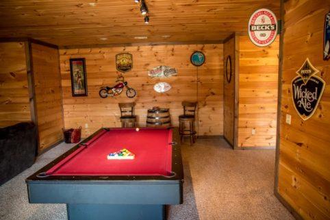 Woodhaven Retreat Rec Room