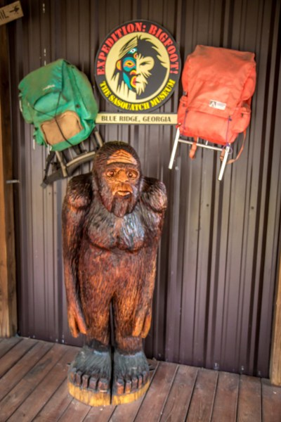 Entrance for Expedition Bigfoot- The Sasquatch Museum in Blue Ridge