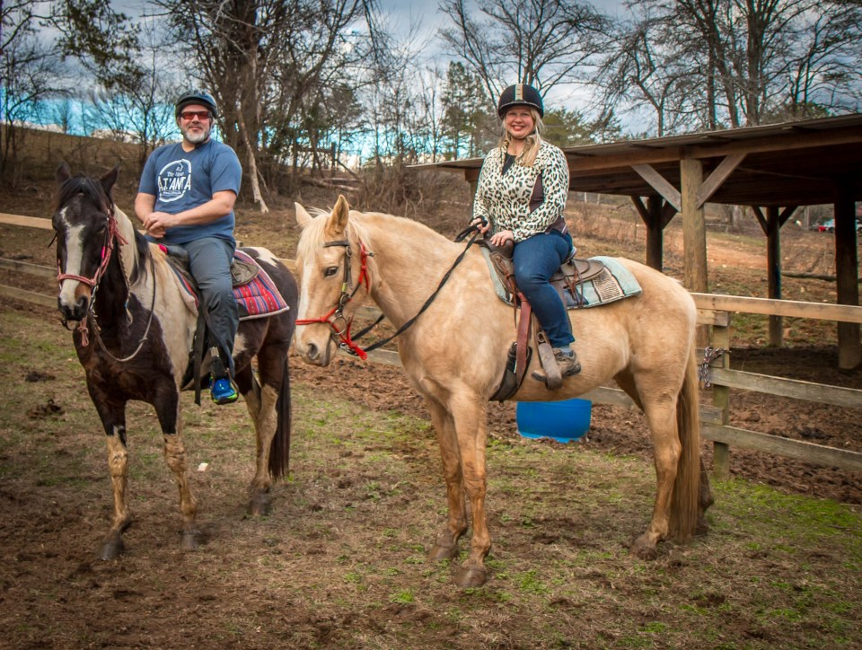 Horseback Riding at Hell's Hollow Adventure Outpost