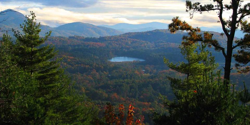 Overview of Cashiers Lake, NC