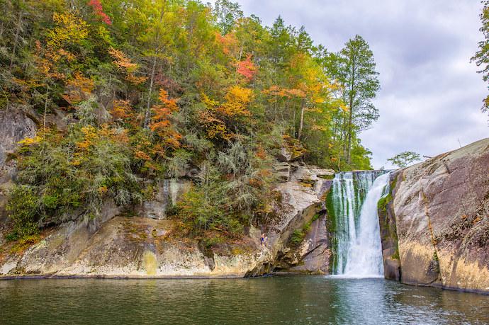 Best Pisgah Trails - Elk River Falls