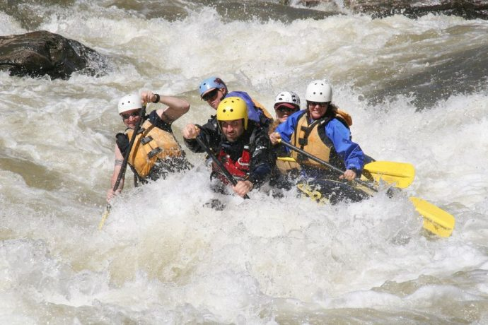 Whitewater Rafting the Chattooga River with Southeastern Expeditions
