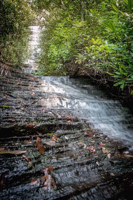 Angel Falls near Lake Rabun, GA
