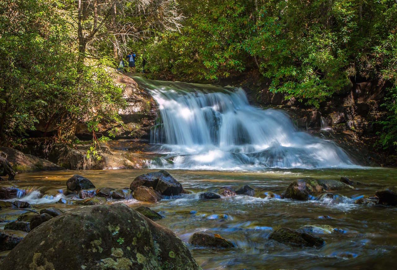 Hemlock Falls, GA near Moccasin Creek State Park