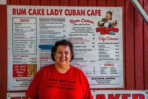 Liz Correa, Owner of Rum Cake Lady in Blue Ridge & McCaysville, GA