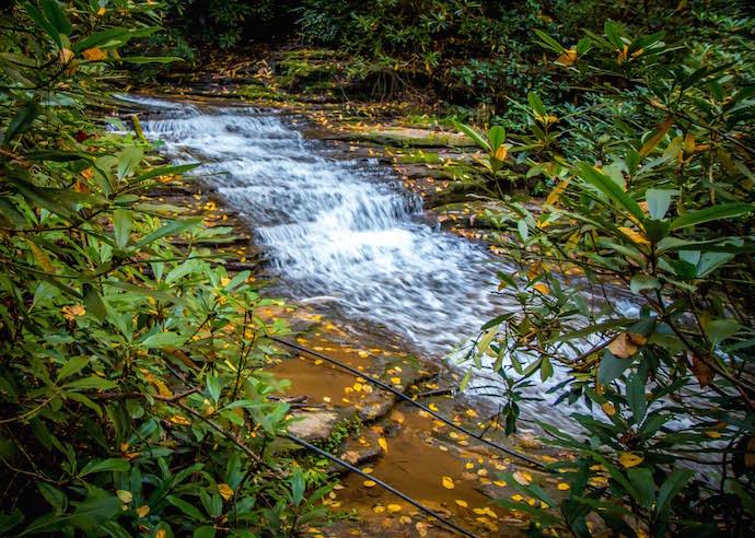 Terraced Cascades at Minnehaha Falls, GA