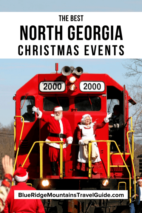 The Best North Georgia Christmas Events for 2020 including Christmas in Blairsville, Christmas in Blue Ridge, Christmas in Clayton, Christmas in Dahlonega, Christmas in Dalton, Christmas in Dawsonville, Christmas in Helen, Christmas in Rome and more! | christmas in blue ridge mountains | christmas in georgia | georgia mountains christmas | georgia mountains christmas | georgia christmas town | blue ridge mountains christmas | christmas in georgia mountains | christmas georgia |