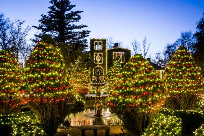 Light Up the Holidays at Barnsley Resort in Adairsville GA
