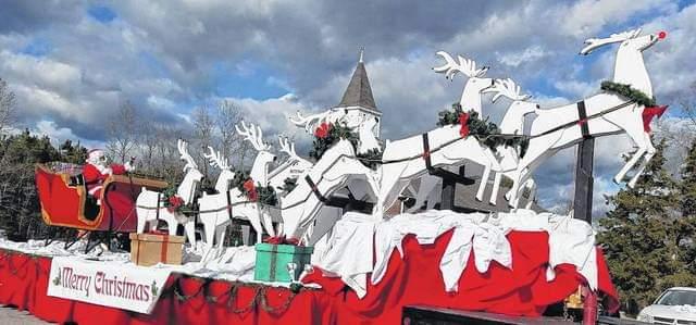 Santa at Rabun County Chamber of Commerce & City of Clayton Christmas Parade